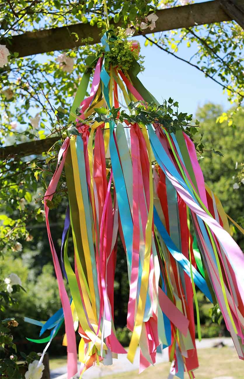 Make Your Own Ribbon Shade