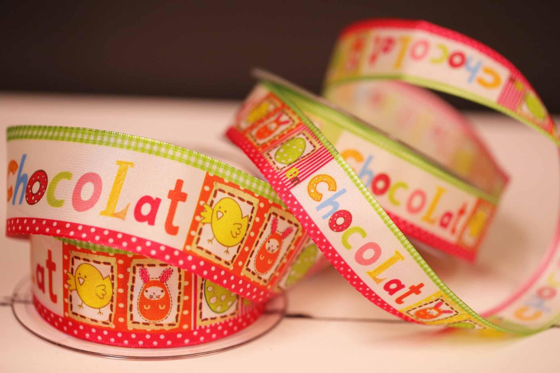 chocolat easter ribbon